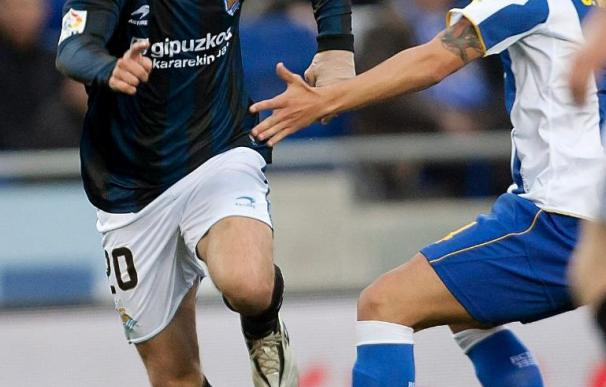 Javi Márquez, duda ante el Mallorca por una contusión en el tobillo izquierdo