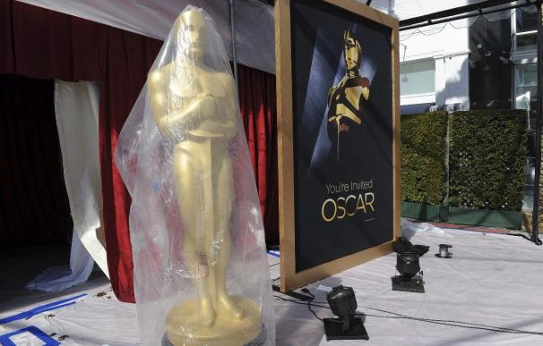 Los Óscar se preparan para una ceremonia invernal en la soleada California