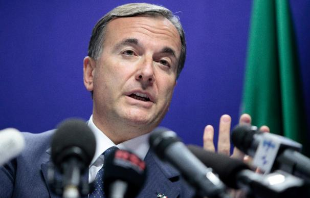 "Frattini dice que es ""inevitable"" que Gadafi se marche"