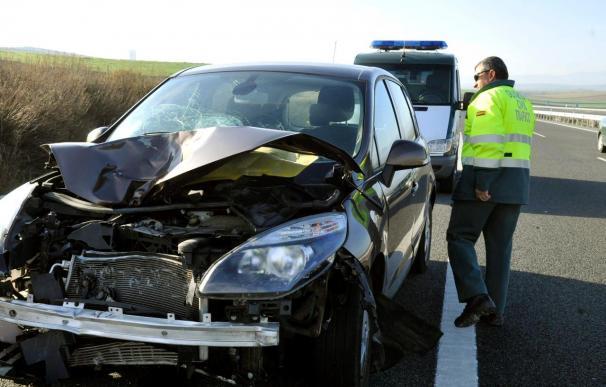Una mujer muerta y un hombre herido al ser atropellados en la autovía A-44