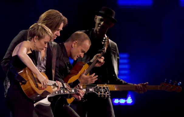 Sting, Chayanne y Sanz conquistan Viña y dejan el listón muy alto para 2012