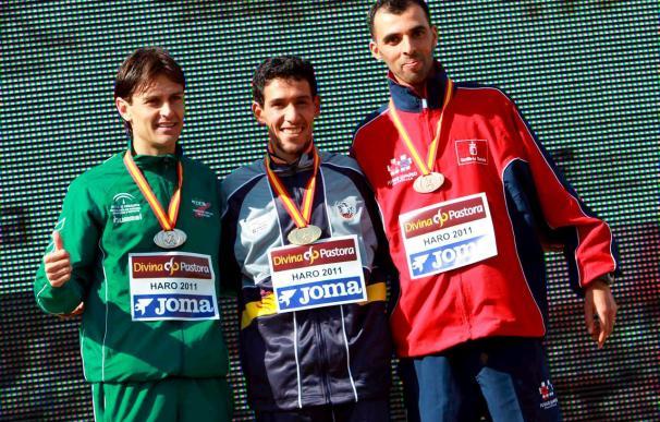 Ayad Lamdassen y Nuria Fernández, campeones de España de cross