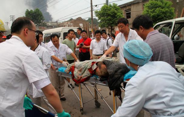 Ascienden a diez los fallecidos en una explosión en una fábrica de China