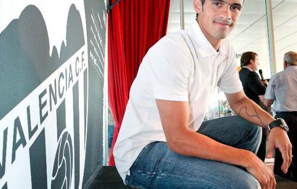 El portugués Ricardo Costa completó su primera sesión como valencianista