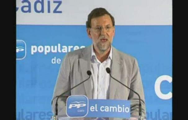 Rajoy dice que no se pueden poner cuestiones identitarias sobre los derechos