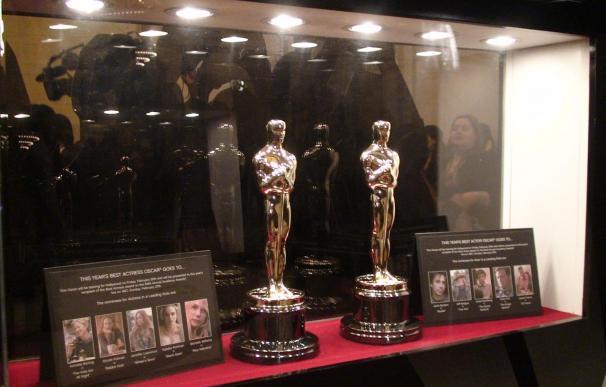 Exhiben en Nueva York los Óscar que se entregarán al mejor actor u actriz