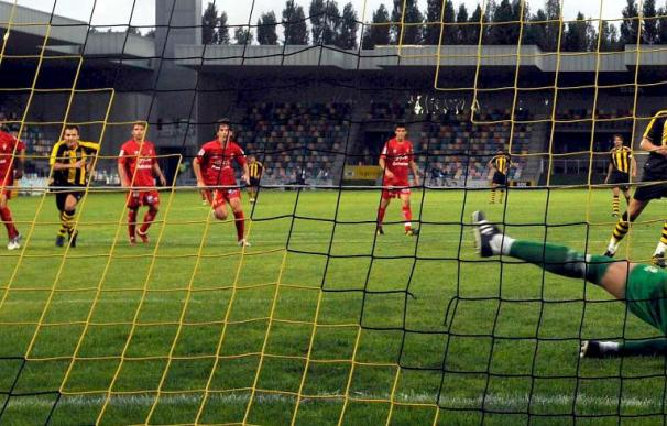 1-1. El Sporting se deja el trofeo Lasesarre tras una tanda de 24 penaltis ante el Barakaldo