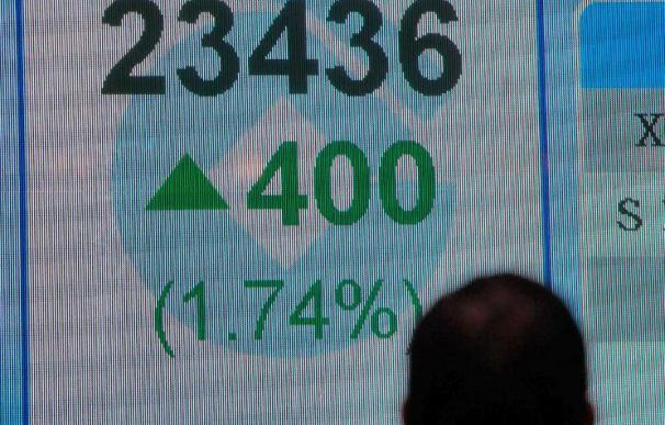 El Hang Seng suma un 0,07 a media sesión, hasta los 22.923,95 puntos