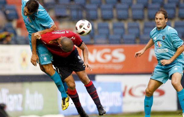 Dos triunfos locales y uno navarro resumen los Levante-Osasuna en Primera