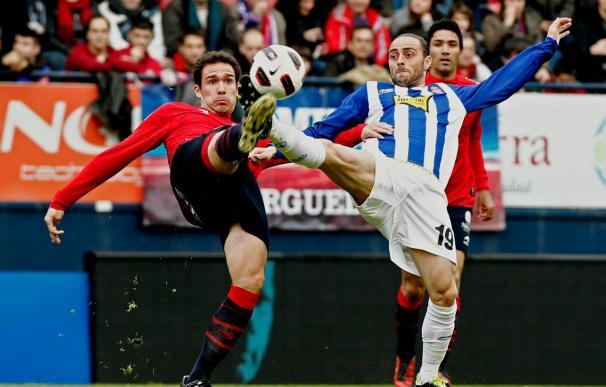"""Lolo cree que el partido ante el Levante es """"vital"""" para la permanencia del Osasuna"""