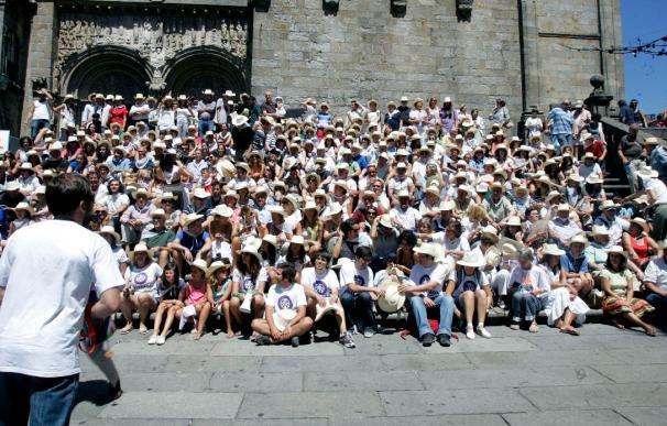 Más de 500 integrantes de una misma familia reciben el Jubileo en Santiago