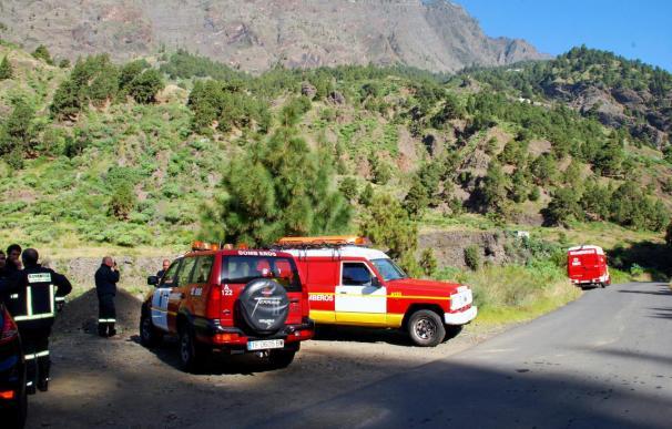Los accidentados del helicóptero de La Palma están conscientes y no se teme por su vida