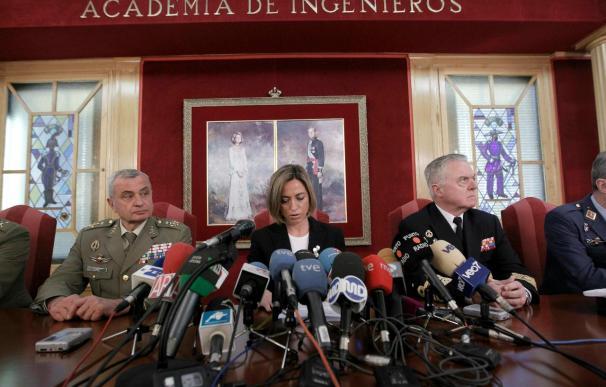 """La ministra de Defensa lamenta la muerte de cinco militares en ejercicio para """"salvar vidas en Líbano"""""""
