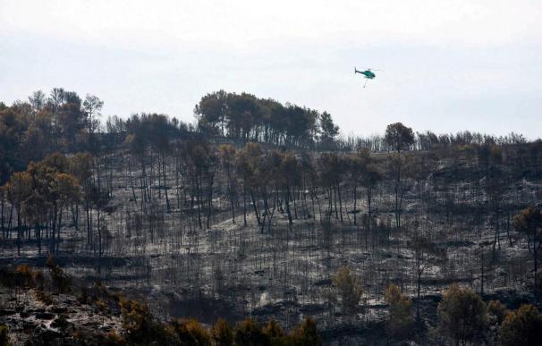 El incendio de Tarragona pasa a la fase de control