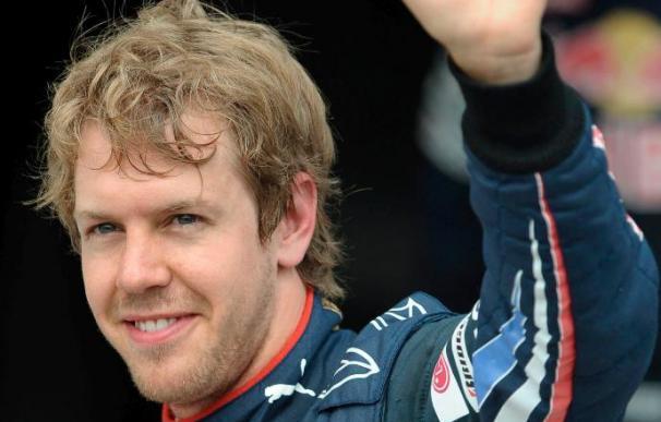 Los Red Bull en primera fila con Vettel y Webber. Alonso y Massa en segunda