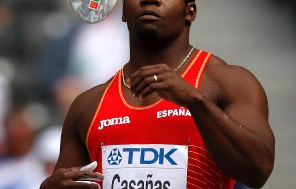 Frank Casañas se meten en la lucha por las medallas en disco