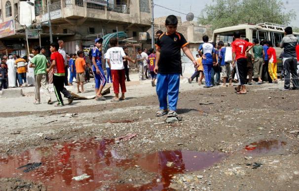 La explosión de dos bombas consecutivas causa cuatro muertos y once heridos en Irak