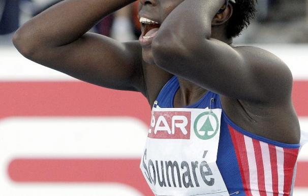 Soumare cambia el bronce por el oro en 200