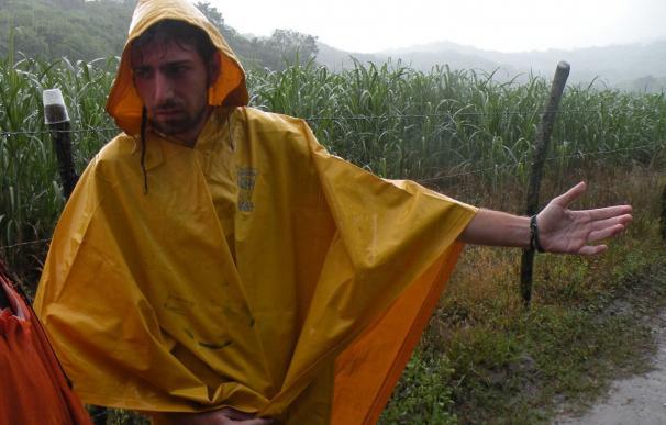 Los españoles fueron advertidos del peligro por la fuerza del río, pero un guía les convenció