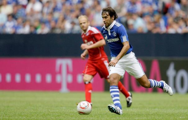 El Schalke de Raúl se apuntó la victoria ante el Hamburgo de Van Nistelrooy
