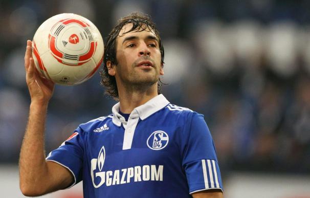 Raúl salva al Schalke y le da el empate ante el Núremberg