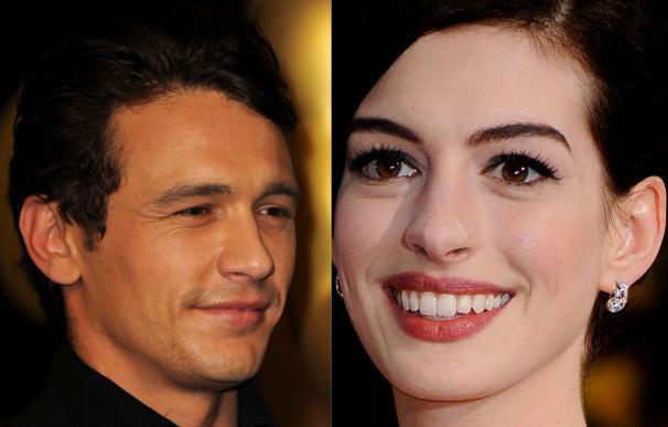 Anne Hathaway y James Franco presentarán los Oscar 2011