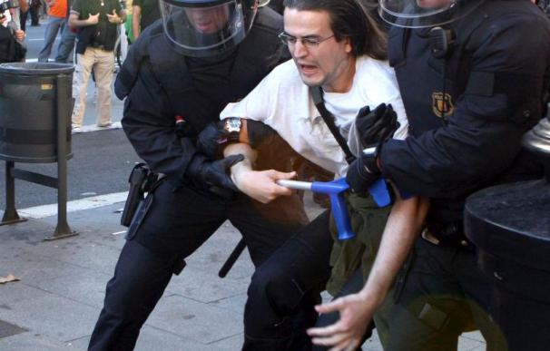 Los Mossos dejan a la mayoría de detenidos en Barcelona en libertad con cargos