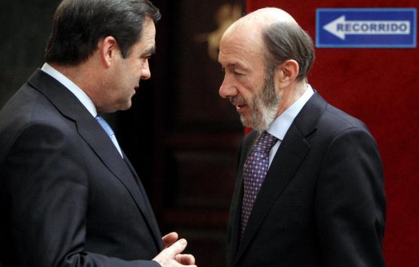 1º Rubalcaba, 2º Bono, 3º Chacón, las apuestas del PP para el postzapaterismo