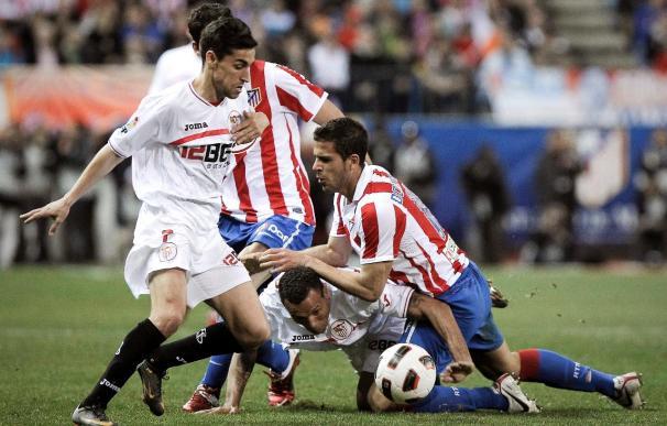 2-2. Atlético y Sevilla igualan en un duelo trepidante