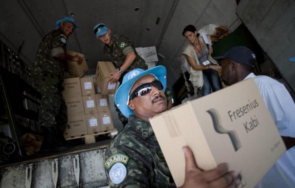 """La epidemia de cólera en Haití se propaga a una velocidad """"explosiva"""", según OPS"""