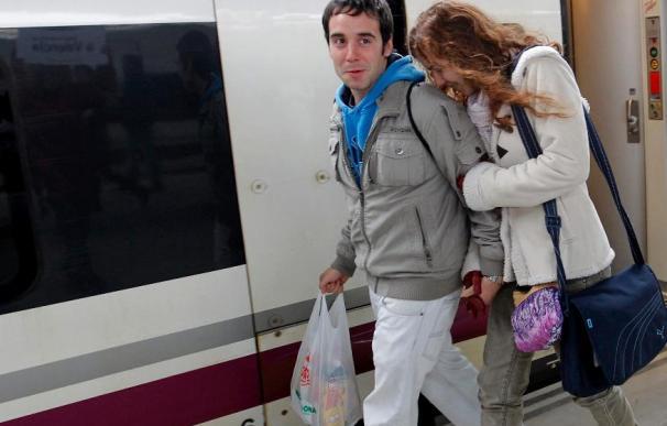 Más de 281.000 viajeros en los 2 primeros meses del AVE de Madrid a Valencia