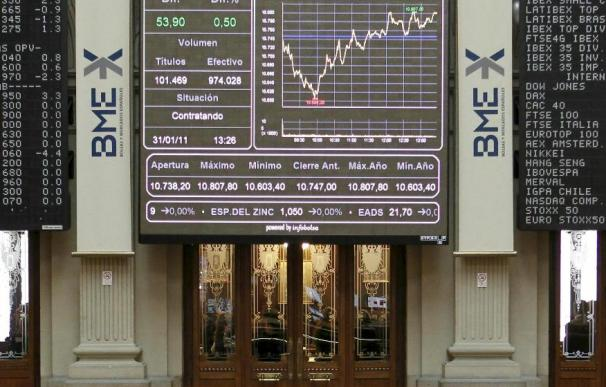 Las empresas del IBEX ganan el 18 por ciento más en 2010