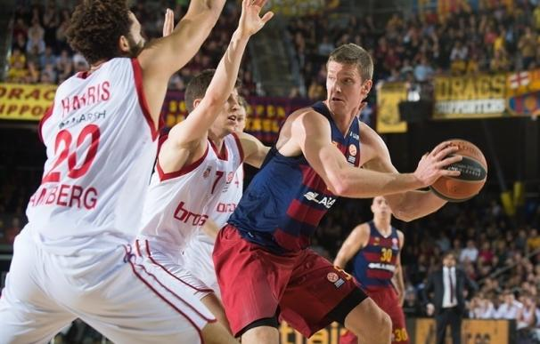 Crónica del FC Barcelona Lassa - Brose Baskets Bamberg, 75-57