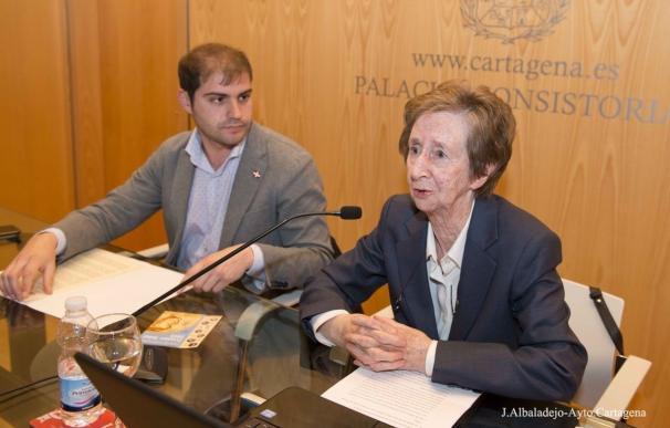 Margarita Salas dio una lección sobre el ADN en la segunda conferencia de los Premios Nobel