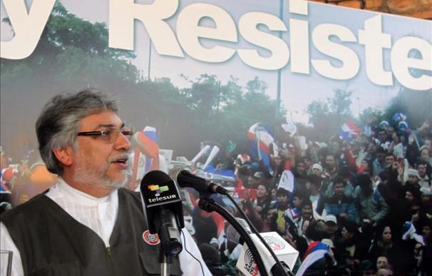 Lugo celebra la suspensión de Paraguay del Mercosur y la entrada de Venezuela