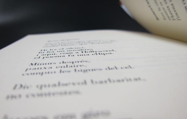 El Día Mundial de la Poesía se celebra este lunes con un acto en el Arts Santa Mònica