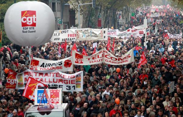 Nueva protesta contra la reforma de las pensiones en Francia