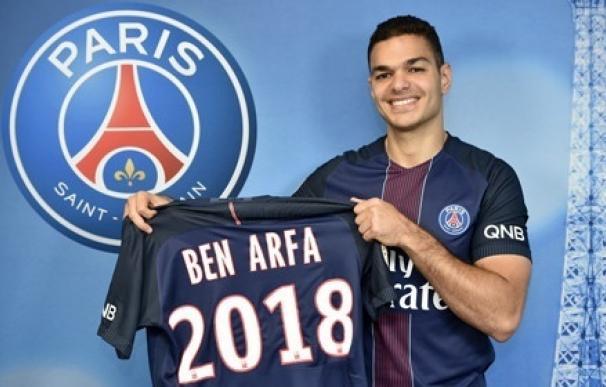 El Paris Saint-Germain firma a Hatem Ben Arfa para las dos próximas temporadas