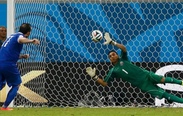 Penaltis Costa Rica - Grecia