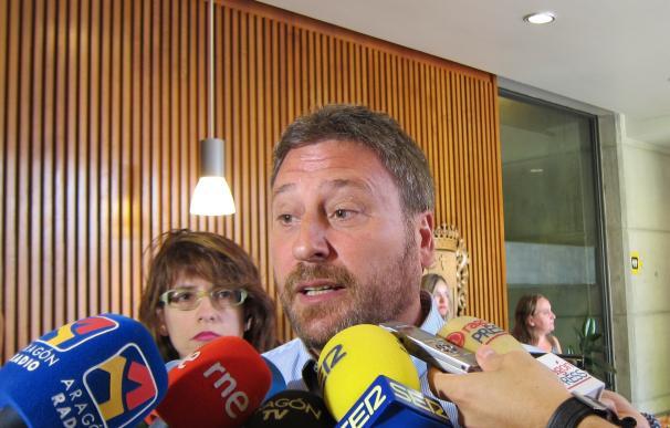"""CHA defiende que """"no hay motivos"""" para romper el pacto de la mesa de las Cortes"""