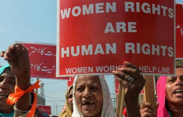 En Paquistán, las activistas han reclamado los Derechos humanos para la mujer