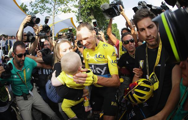 Froome, el tricampeón del Tour que superó con creces su sueño de niño