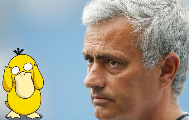 Mourinho prohíbe a los futbolistas del United jugar a Pokemon Go
