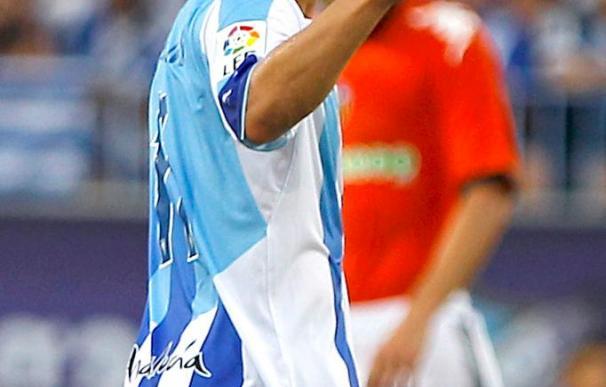 """El jugador uruguayo del Málaga Fernández califica al Almería """"como un rival muy duro"""""""