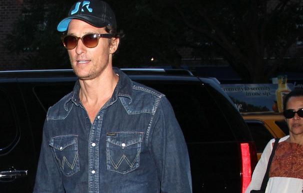 Los hijos de Matthew McConaughey fueron los protagonistas de su boda