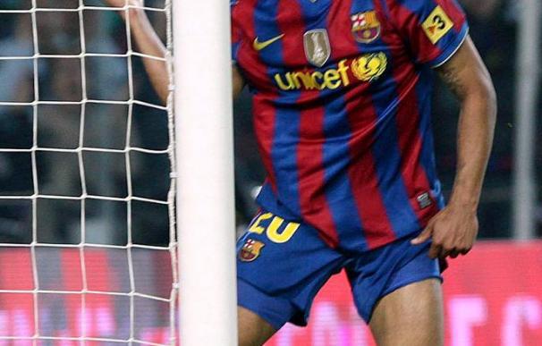El delantero del Barcelona Jeffren encara la recta final de su recuperación