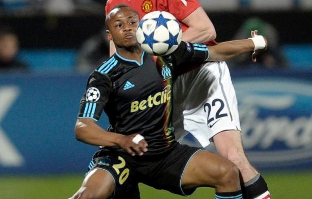 0-0. El Manchester se salva en Marsella