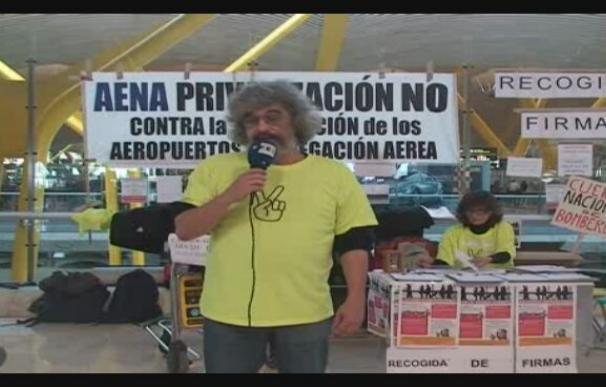 Alarma en Barajas por la privatización de AENA