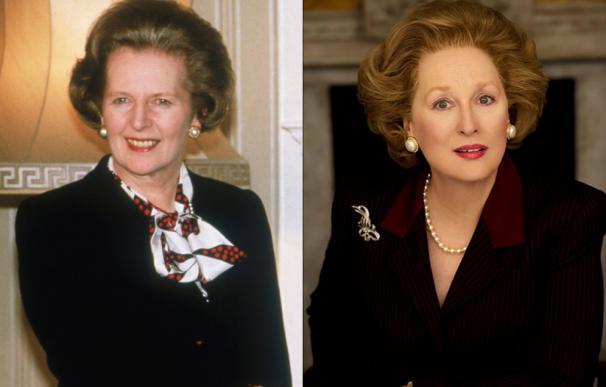 La caracterización de Streep como Thatcher lo dice todo.