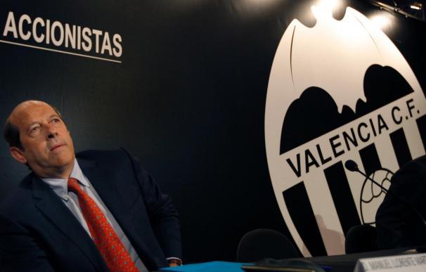 Admitida a trámite la solicitud de junta general extraordinaria del Valencia
